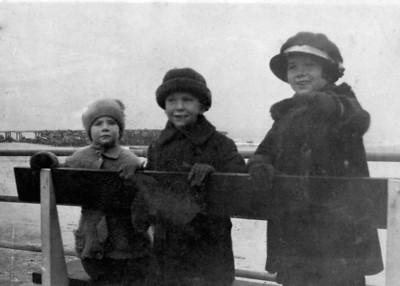 Pat, Vincent, and Jane Finan, Asbury Park