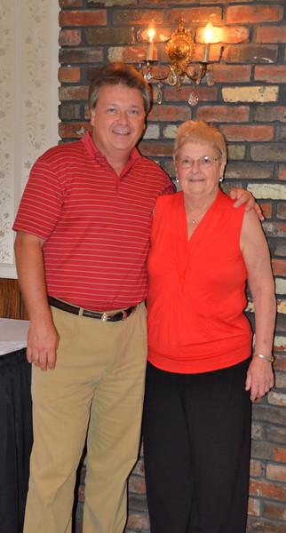 Stan Jr. and Pat at Granny's 90th birthday party.