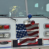 Anne Arundel County fire truck on 9-11-11.