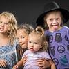 Funny Faces: Raven, Torah, Elena, Euphrates - September 4th, 2021