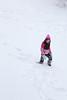 Claire in Snow