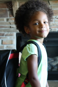 Activities during Rylee going to school, first day, Sept 2012.