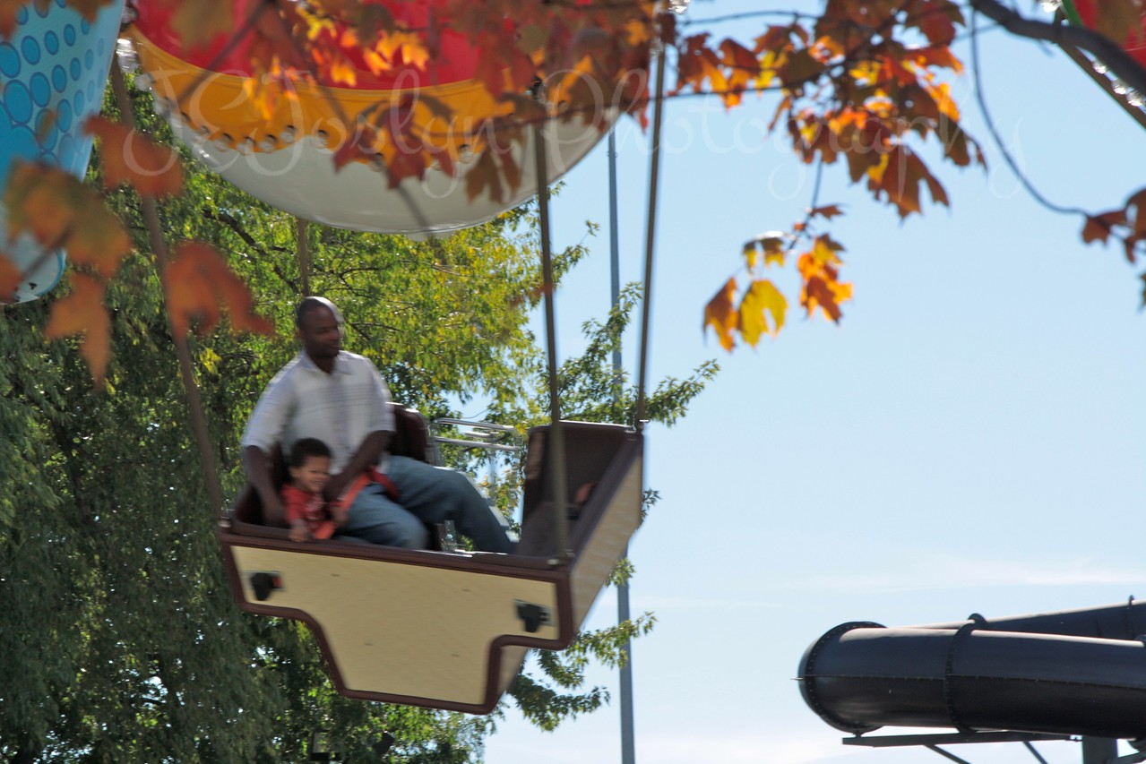 Fun at ValleyFair, which was outfitted for Halloween, 10-2011