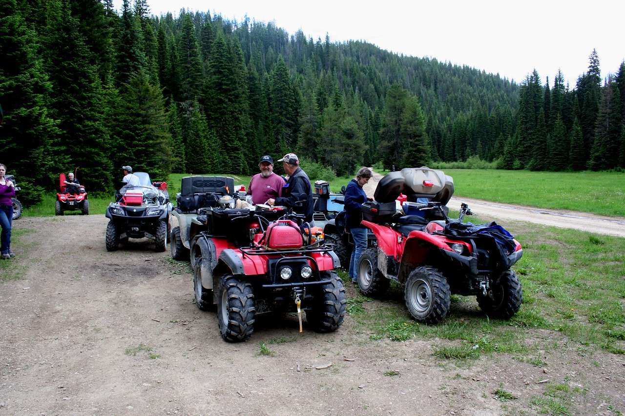 We went on the yearly Summer Solstice ATV ride.  We stopped by Horse Haven for dinner. June 2011