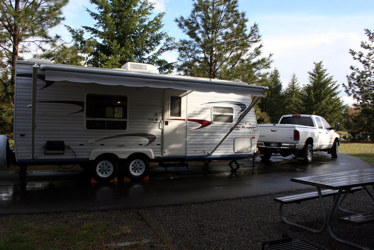 Mom & Dad's new camp trailer