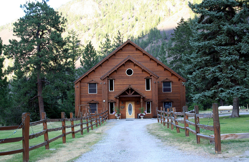 The Cabin we stayed at. This is in Paradise MT.