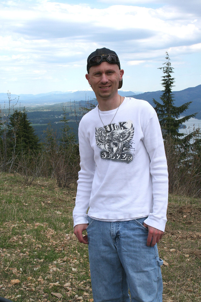 We went for an ATV ride on Canfiled Mt. May 2011