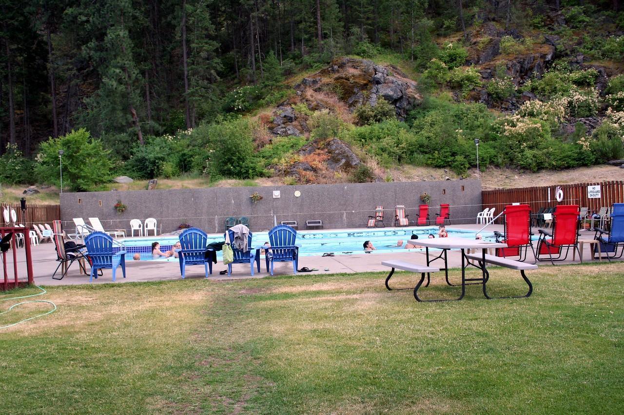 Quinns Hot Springs in Paradise MT