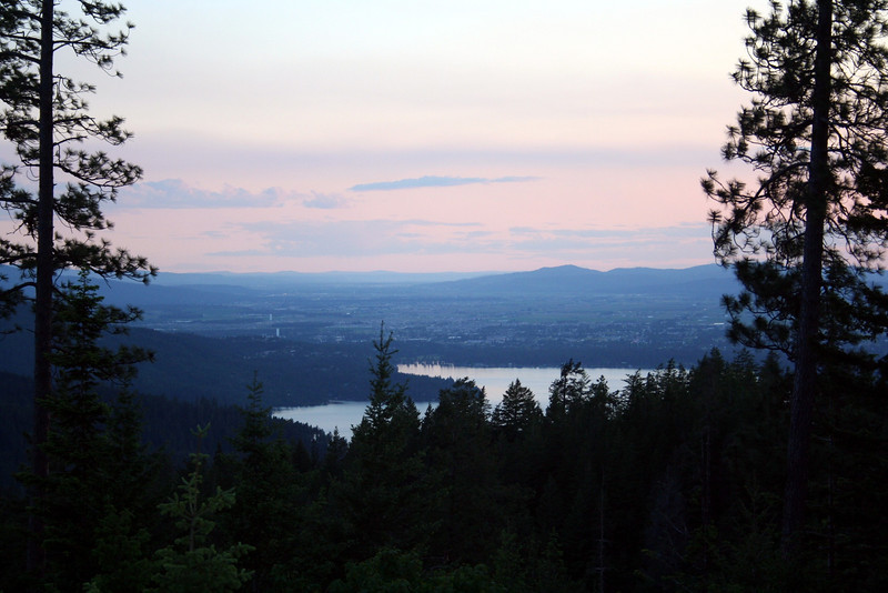 Was a beautiful sunset on a beautiful Summer June evening.