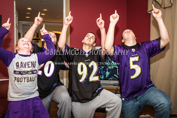 Ravens AFC Playoffs - 21 Jan 2012