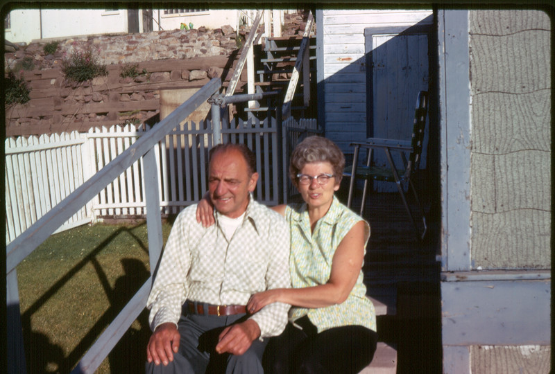 Grandpa and Grandma, 1973.