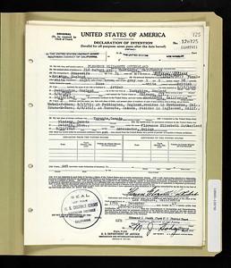 1946 nat Florence Sutherland LA CA
