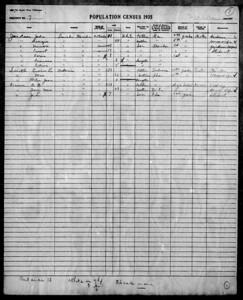 1935 florida census-nakomis EL smith family