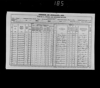 1911 census household in S Roxborough Co Mayo