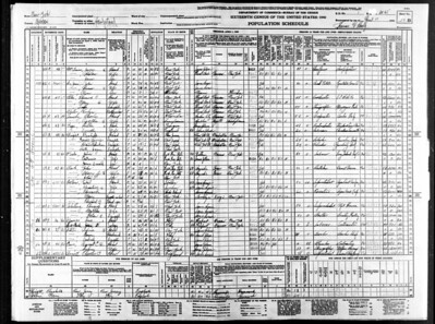 1940 census James OToole in Hempstead ny
