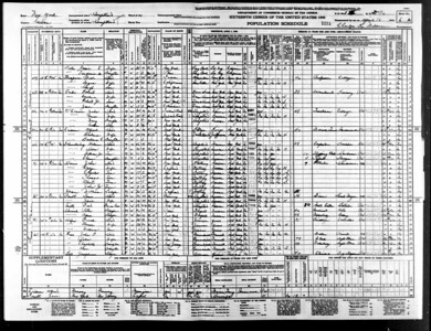 1940 census Anna Toole OConnor family Hempstead NY