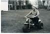 Harley Roddel on motorcycle