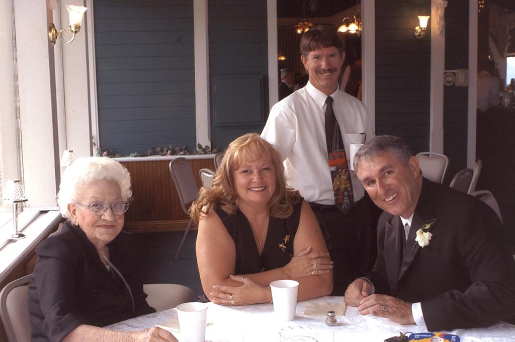 these people were like family to me.  Betty Lou Watson, Barbara Watson, Gene Nagle - me