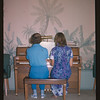 Velma and Lois at the Piano