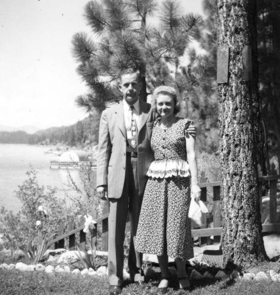 1949 Herman Velma Just Married