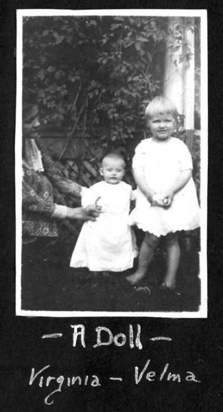 Virginia and Velma 1920