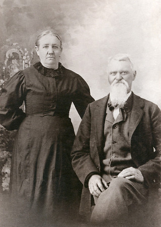 Anna Mary (Diehl) and Jacob Harcleroed, Great-Great-Grandparents