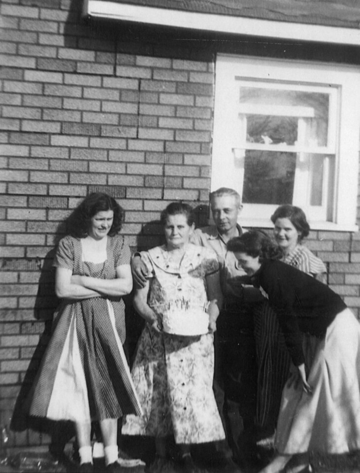 Dovie, Mary, Hazel, and Others
