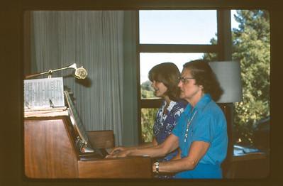 Lois and Velma at the Piano