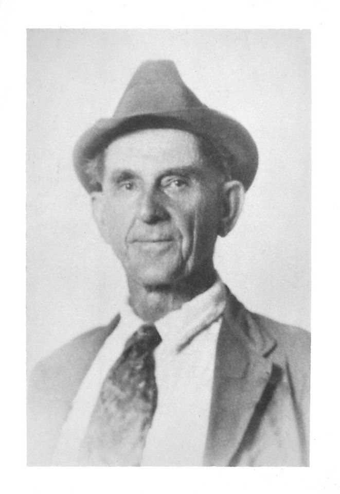 Asher Turner at age 72 (about 1932).