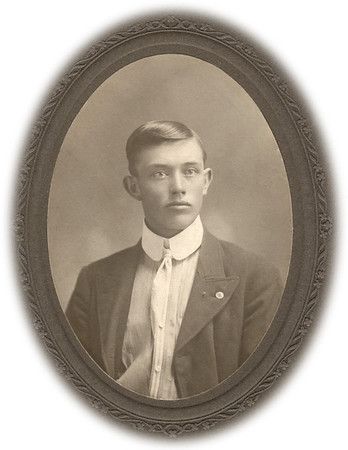 Alonzo Turner, 1902. Taken in Kansas.