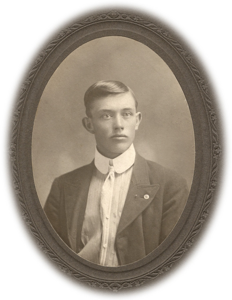 Alonzo Turner, 1902. Taken in Kansas.