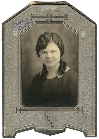 Grace Griffin, about 1926
