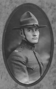 Floyd C. Turner in his WWI uniform