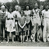 L: Harry Tish, Unknown, Lucille Tish, Unknown, Delima Tish, Frances, Mary, Marion, Marvin, Lawrence (Buddy).