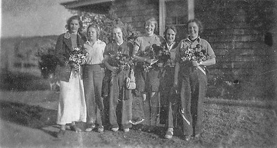 Olle  Jonsson - 58  Vera, Mary-Ellen, HIlma, Dagmar, Lilian, Valborg