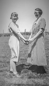 Olle  Jonsson - 47  Anna och Dagmar sommar 1936
