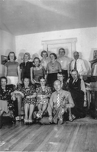 Olle  Jonsson - 2  Dagmar, Rut, Mary-Ellen, Vera, Valborg, MIldred, Arvid, Ingeborg, Hilma, Hildur, Anna, Otto, Allan
