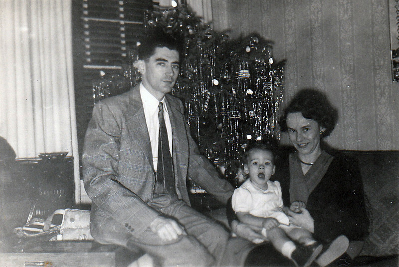 David, Susan and Emily Jones, around 1950.