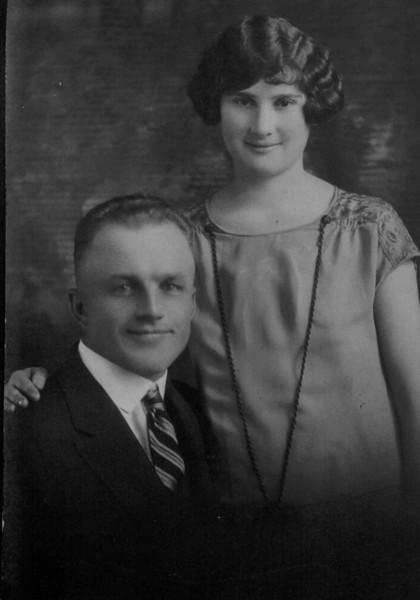Art & Violet Kolka's Wedding Picture April 29, 1925