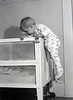 October 1960-Caught in the act.  Nathan finds out he can escape his crib.