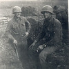 CPL Randy Minix and Dad, France, 1944.