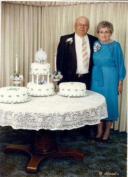 Art & Violet 60th Wedding Anniversary