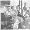 Summer 1948, Lake Winnepesaukee, new Hampshire vacation. Elsie Newman, my two grandmothers, Elsa Nathan (Grossmutti), and Omi Jankow, plus my mother with little Diana, 2 1/2 in front.