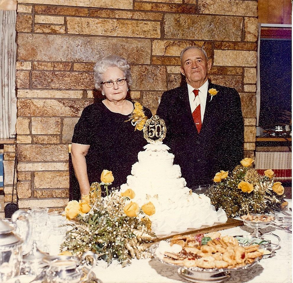 Evelyn & Loy 50th Wedding, November 18, 1972