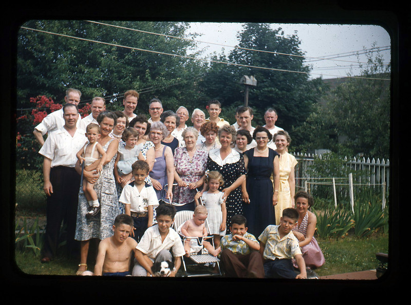 Mom's family, Yonkers, 1952-53,