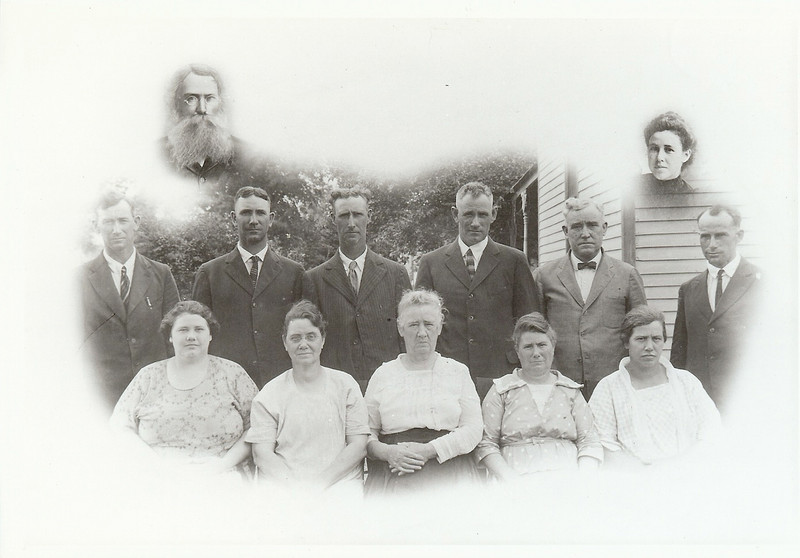 GG Grandpa Ephram, Annie<br /> Leo, John, Virgil,Custer, Frank Charlie<br /> Leona, Nora, Malinda - (GG Grandma Green), Emma, Ethel