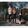 My cousins Richard, David, Robert and Catherine Jones, April 1970.