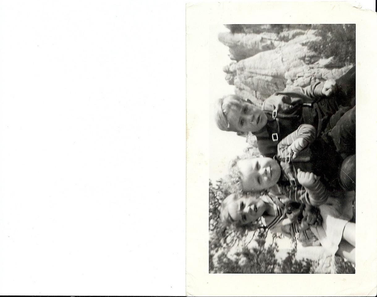 Delores, Melvin & Gary 1942
