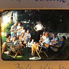 Summer 1958, family gathering at Walter's home in Groveland, MA.