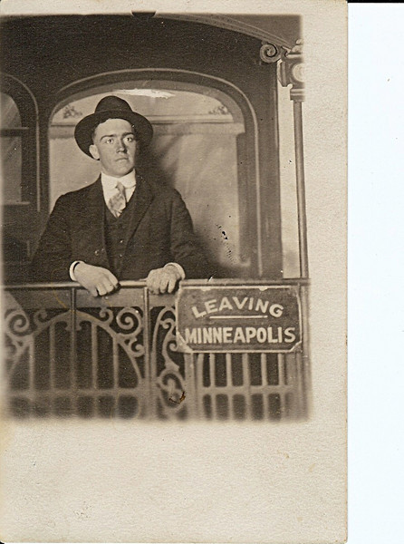 Loy (Grandpa) Green prior to getting married in 1922